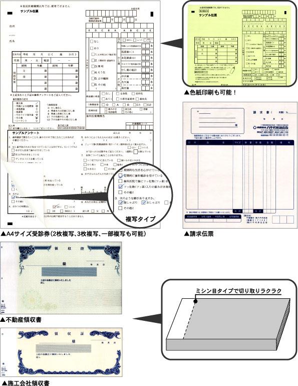 伝票・複写伝票印刷